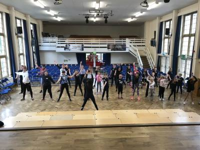 musical theatre summer school, Witney. Day #1