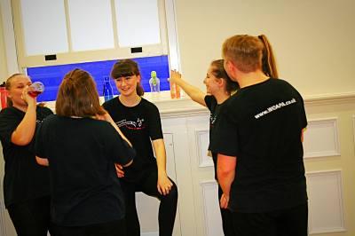 Children dance drama & singing in Witney