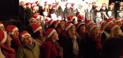 Witney Christmas Lights switch-on event 2018