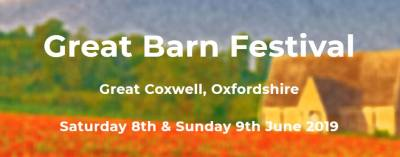 WOAPA to perform at The Great Barn Festival, Great Coxwell, Nr Faringdon