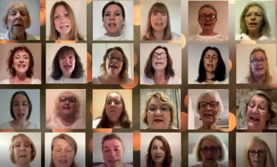 Witney Choir awarded 'Distinction' at Music Festival
