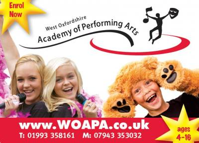 Performing Arts Witney - now booking for our Autumn term, 2021