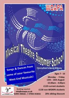 Dance & Singing summer school