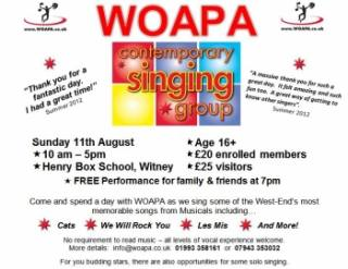 Singing workshop - Witney near Oxford