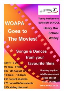 Singing, Dance & Drama summer school