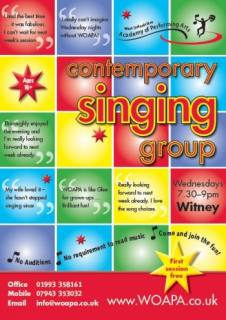 Witney Choir - Adult Singing Group performance