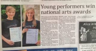 Witney Performing Arts success