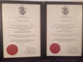 Witney Mayor's Awards