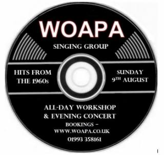 Witney Singing Group Summer Workshop