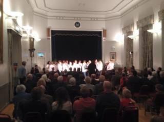 Chipping Norton - Choir performance