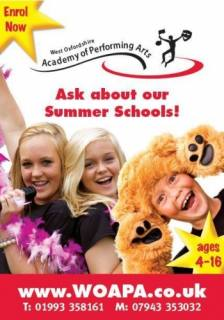 Summer School Oxfordshire Singing Dance Drama for children