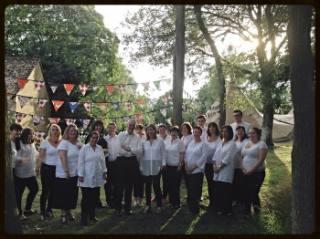 Witney Choir wedding flashmob
