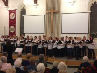 Witney Choir - Rotary Christmas performance