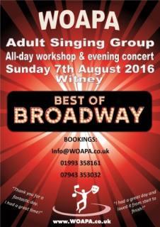 Singing Workshop - Witney Oxford