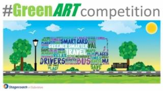 Stagecoach Oxford #Greenart competition
