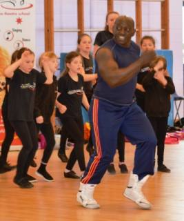 Musical Theatre masterclass with Mykal Rand